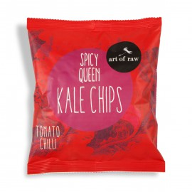 CHOCOLATE PRINCESS KALE CHIPS